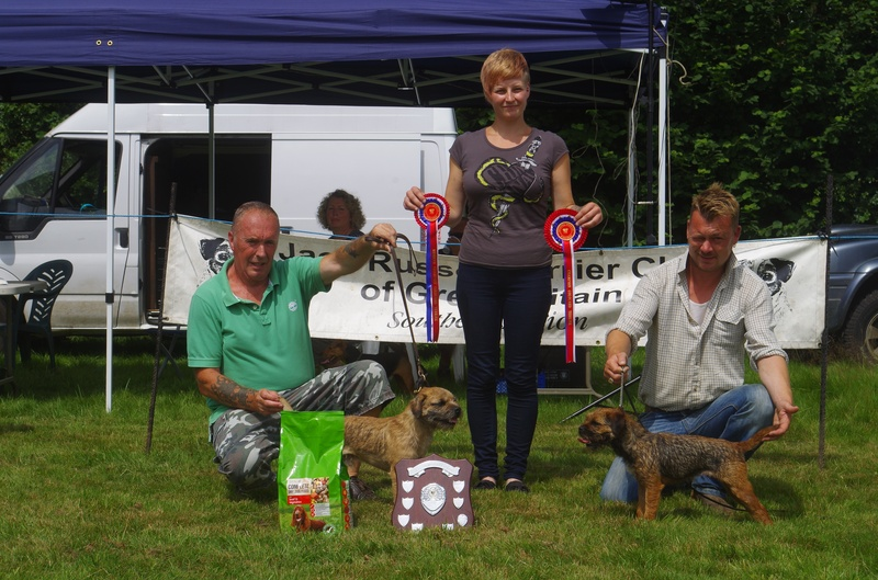 Champion & Reserve Coloured Terrier