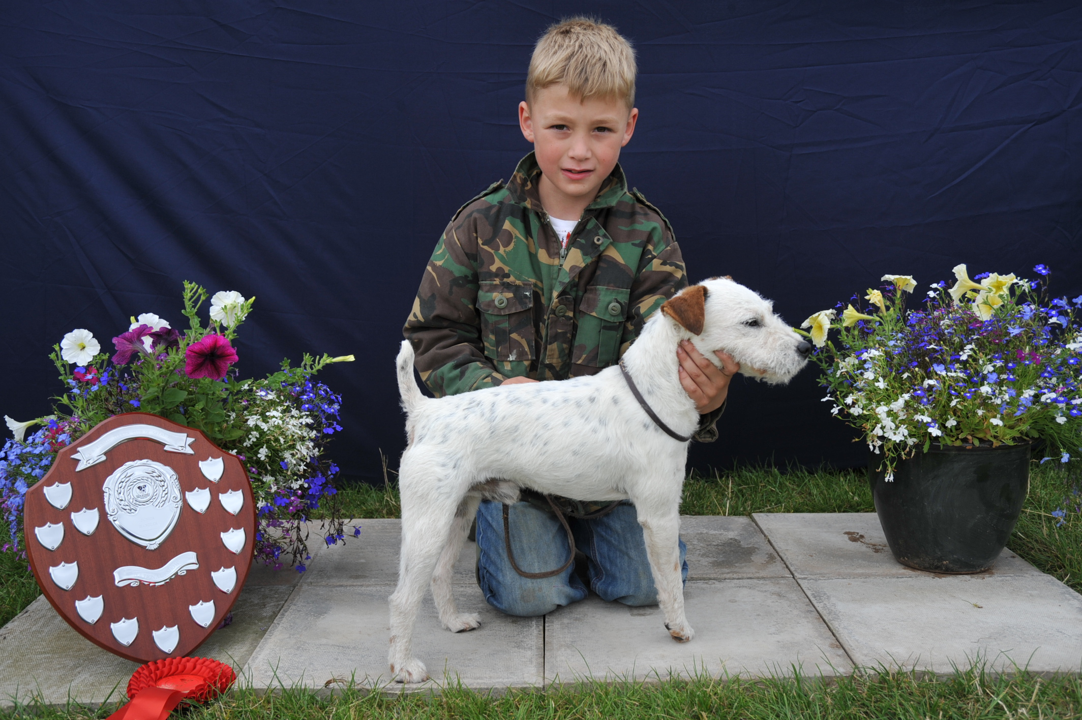Class 13 Junior Child Handler (Up to 8 years old) | Ben Hazeltine - Benick Razor