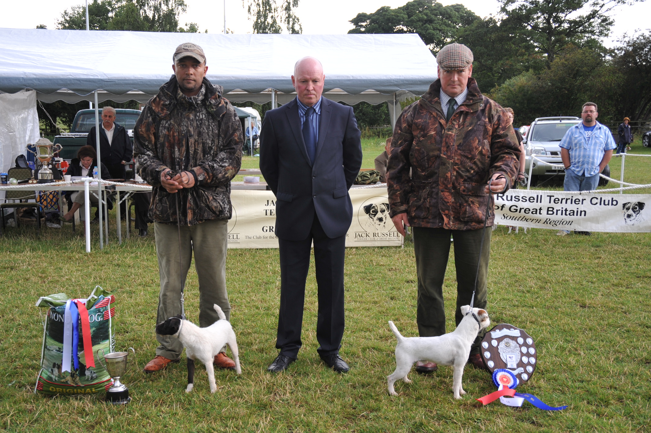 "Class 24 Best 10"" - 12 1/2"" Jack Russell Terrier 
