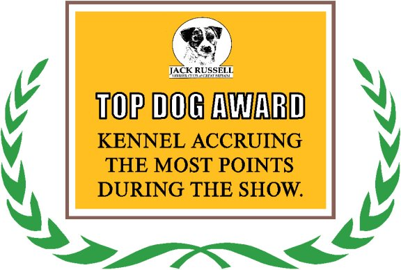 Top Dog Award | Jane Massarella - Cadella Kennels