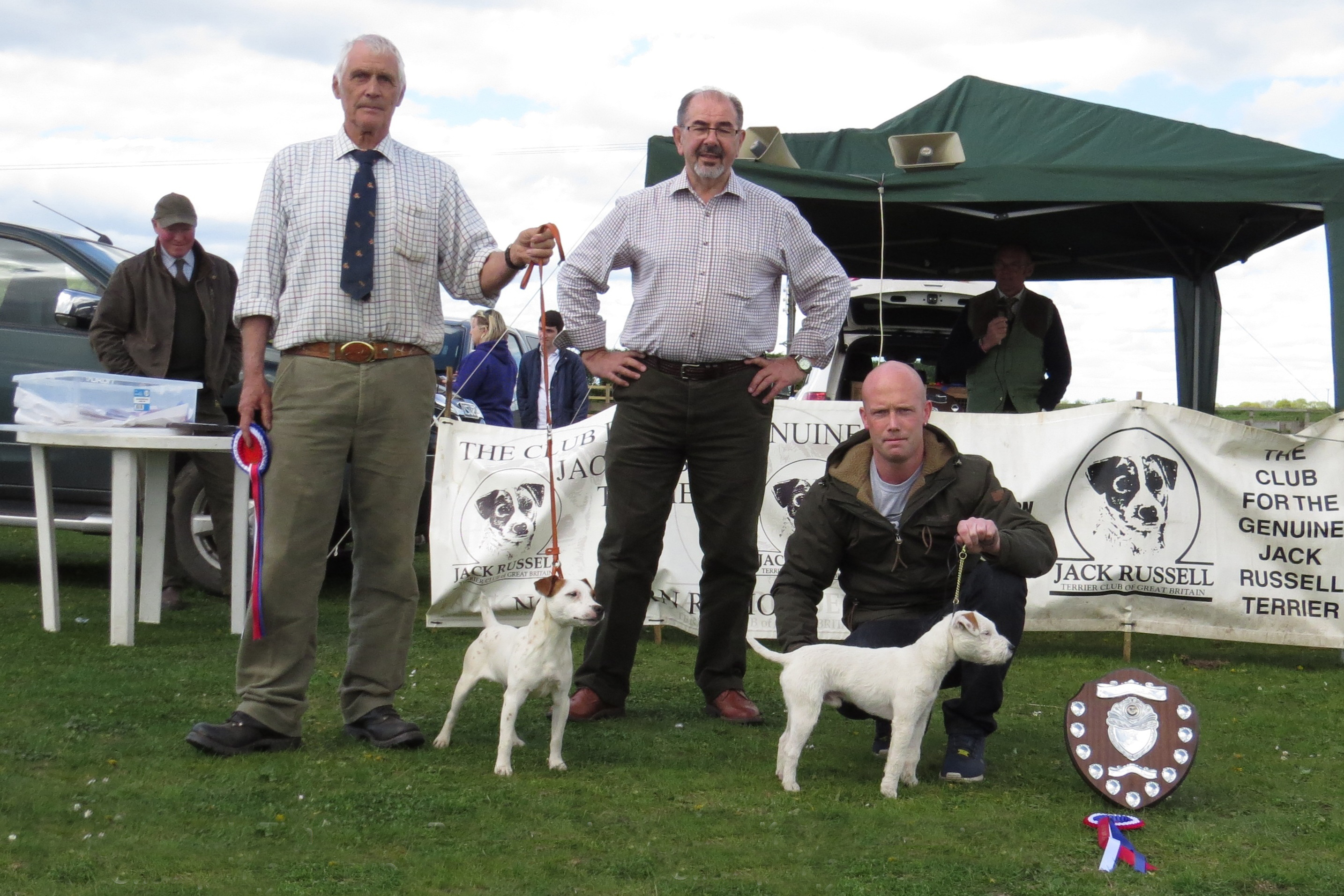 Puppy Champion and Reserve | Brien Knight's Dexter (Right) & Bob Gibson's Tim (Left)