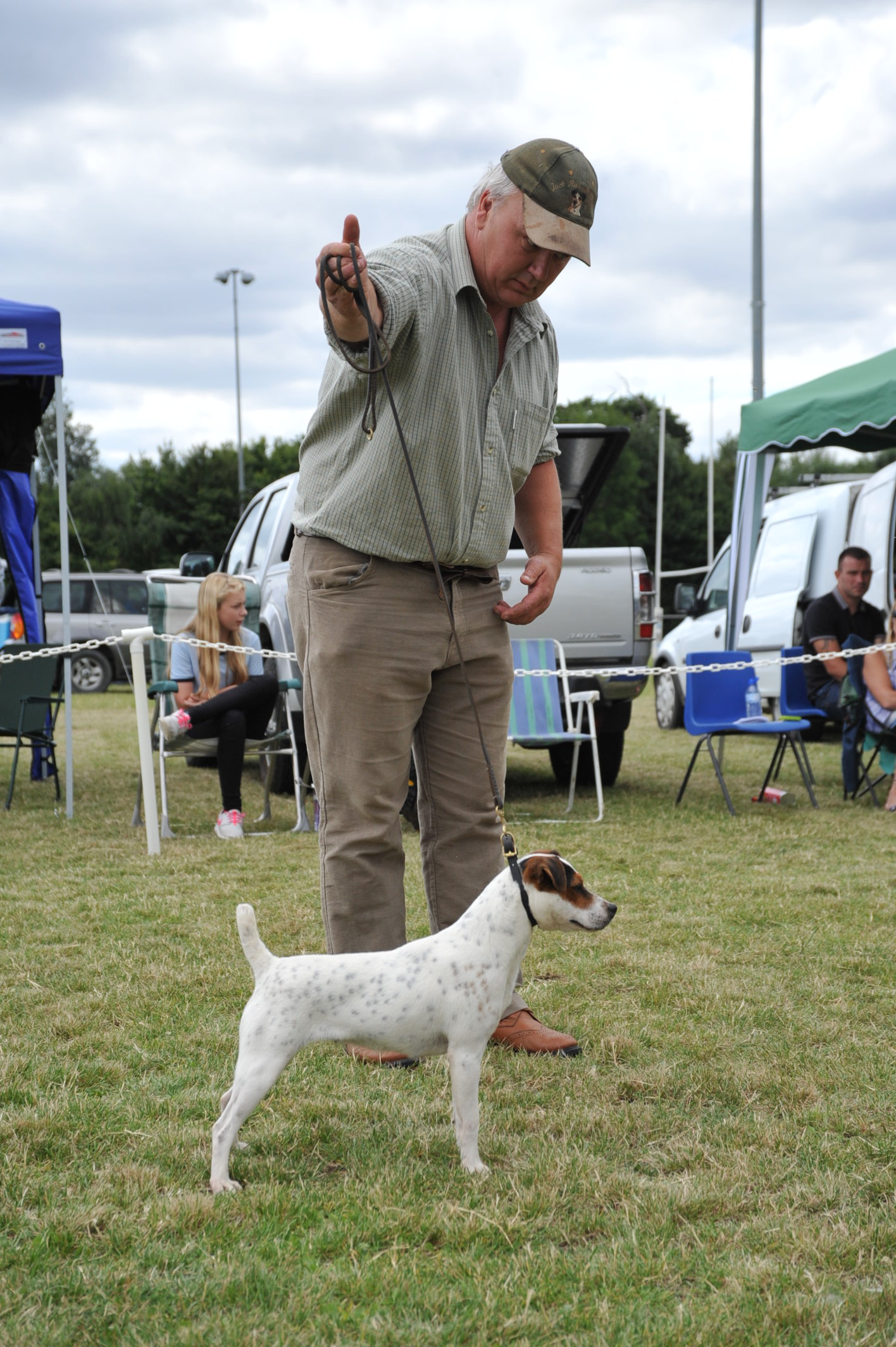 "Class 18.  10""-12.5"" Jack Russell Terrier Reserve Friarmoor Ellie of Rushill - Martyn & Liz Hulme"
